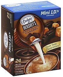 International Delight Mini Chocolate Caramel coffee flavored creamers