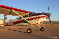 Skywagon | Turbocharged Cessna 185 | Ryan Lunde | Flickr Cessna Aircraft, Evening Sandals, Aircraft Pictures, Airplane, Planes, Affair, Engine, Arizona, Aviation