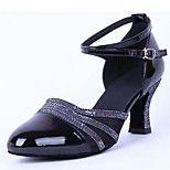 De moderne vrouwen lage hak tule met gesp dans schoenen (meer kleuren)