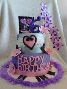 Justin Bieber birthday cake.