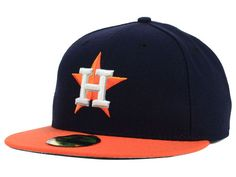 houston astros caps | This Houston Astros MLB Authentic Collection 59FIFTY Cap features an ...