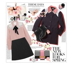 """""""Spring is in the air"""" by lidia-solymosi ❤ liked on Polyvore featuring E L L E R Y, IWC Schaffhausen, Prada, Miu Miu and Gucci"""