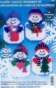 Snowman Ornaments 1