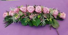 Altrosa Church Flowers, Funeral Flowers, Love Flowers, Diy Flowers, Beautiful Flowers, Wedding Flowers, Flower Arrangement Designs, Beautiful Flower Arrangements, Succulent Arrangements