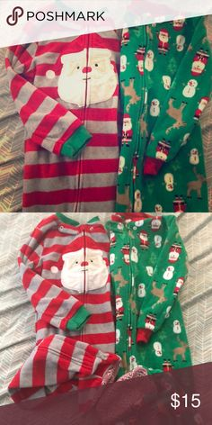 ce6b59f3cc62 Footsie pajama Carters Christmas footsie pajama Carter s Pajamas ...