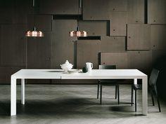 Mesa extensible rectangular EVERY by Desalto diseño CARONNI & BONANOMI ARCHITETTI ASSOCIATI