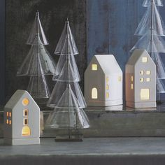 looking for Tea Light Candle Houses Votives Christmas Gift Decoration Set of 3? shop on sale for $98 - discover now.