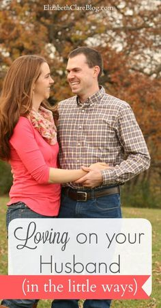 Ideas for sparking love and romance in your marriage.  Ways to love and show love to your husband!