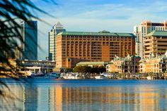 Westin Harbor Island; Downtown Tampa