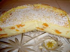 Mandarinen – Schmand – Pudding – Kuchen Mandarins – sour cream – pudding – cake, a refined recipe from the category of cakes. Easy Vanilla Cake Recipe, Easy Cake Recipes, Baking Recipes, Dessert Recipes, Baked Cheese, Cheese Curds, Pudding Desserts, Pudding Cake, Sour Cream Noodle Bake