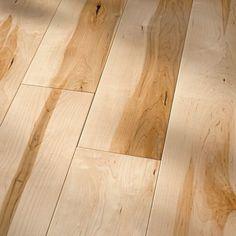 HomerWood Hardwood Flooring - Hard Maple Natural - Traditional Character Georgia Carpet Industries