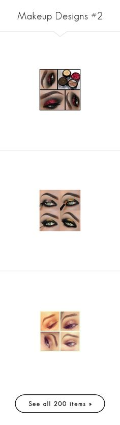 """Makeup Designs #2"" by taishacasimir ❤ liked on Polyvore featuring beauty products, makeup, eye makeup, eyeshadow, lip makeup, lipstick, beauty, lips, cosmetics and fillers"