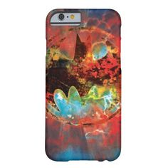 Cataclysmic Bat Logo Barely There iPhone 6 Case