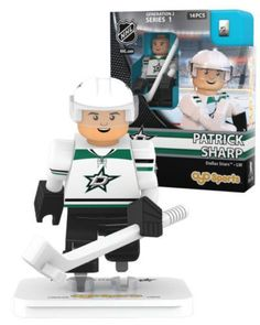Patrick Sharp Dallas Stars NHL Hockey Minifigure Oyo Sports NIB Hockey LW
