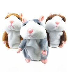 Cute Speak Talking Sound Record Hamster Toy for Children Gift Hamster Toys, Pet Toys, Baby Toys, Kids Toys, Talking Hamster, Pet Mice, Cute Stories, Childrens Gifts, Cute Plush