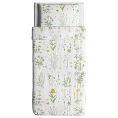 IKEA - STRANDKRYPA Duvet cover and pillowcase(s) floral patterned,