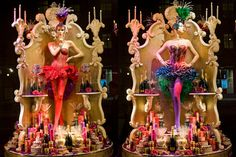 Fortnum's fabulous windows - A shimmering inspiration just picked out by Francesco Catalano www. Store Front Windows, Retail Windows, Shop Windows, Chinese New Year Decorations, New Years Decorations, London Christmas, Christmas Windows, Luxury Hampers, Store Window Displays