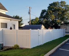 The perfect amount of privacy without complete isolation: vinyl semi privacy fencing.