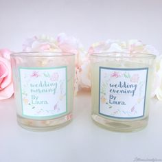 These gorgeous wedding candles are reviewed on my blog. Have a read to see what I think