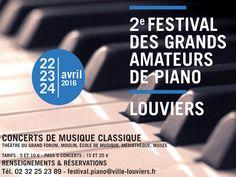 2è festival des Grands Amateurs de Piano à Louviers