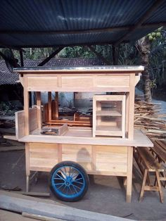 Food Stall Design, Food Cart Design, Food Truck Design, Coffee Carts, Coffee Shop, Bike Food, Diy Wooden Projects, Cafe Concept, Ramen Shop