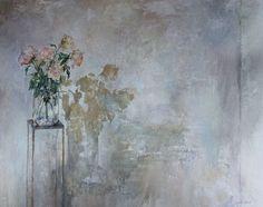 Saatchi Online Artist: Alvis Zemzaris; Oil, Painting Flowers