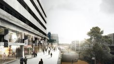 HASSELL | Projects - Seunsangga Citywalk Design Competition