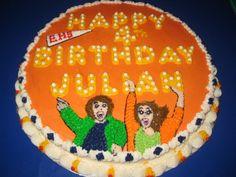 Julian's birthday cake!