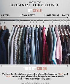 9 Closet Hacks That Will Help You Dress Better