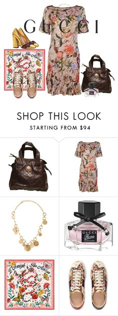 """Presenting the Gucci Garden Exclusive Collection: Contest Entry"" by manarosachoque ❤ liked on Polyvore featuring Gucci and gucci"