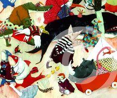 Carl Cneut's amazing illustrations