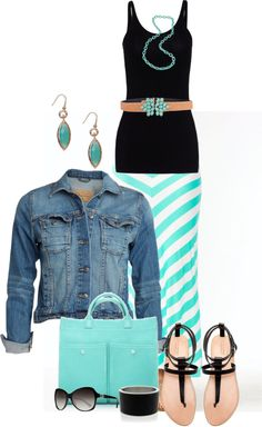 """""""Maxi skirt"""" by peridotpixie on Polyvore"""