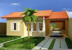 fachadas de casas pequenas e lindas - Pesquisa Google
