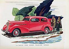 1936 La Salle Brochure. http://oldcarbrochures.org/NA/Cadillac/1936-Cadillac---LaSalle/1936-LaSalle-Prestige-Brochure