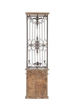 Coastal Living Decor  Metal Wood Wall Gate
