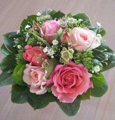 Buket med roser