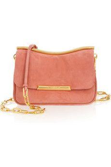 5c7a4836b50 Miu Miu suede shoulder bag Miu Miu Purse, Suede Handbags, Shoulder Handbags,  Shoulder