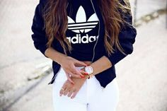 adidas, clothes, girls, hair, tumblr - image #3597778 by helena888 ...
