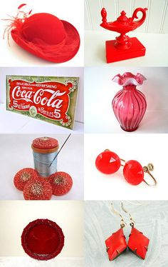 Vibrantly Vintage Gifts the Color of Red
