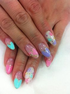 Showgirl Nails | Spring Nail Art Inspiration photo Keltie Knight's photos - Buzznet