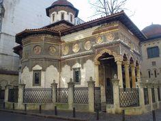 Stavropoleos church 1724  historic bucuresti