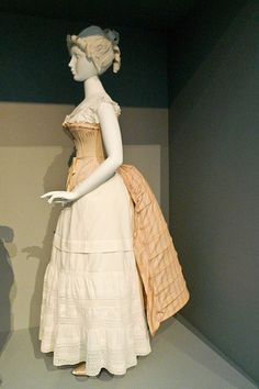European Women's Undergarments, late 19th Century - Fashioning Fashion - LACMA