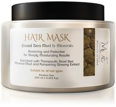 Minerals of Eden Hair Mask 8453 Oz >>> Visit the image link more details. (It is an affiliate link and I receive commission through sales) Eden Hair, Dead Sea Mud, Dead Sea Minerals, Sustainable Gifts, Healthy Protein, Hair Repair, Mineral Oil, Hair Hacks, Restoration