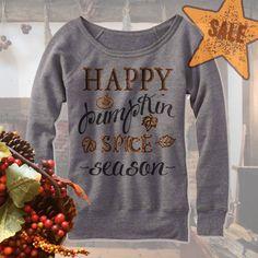 Happy Pumpkin Spice Season Sweatshirt. Fall by FamFamShirts