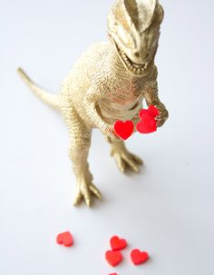 Make and Give  DIY Dino Valentine by  Lovely Indeed