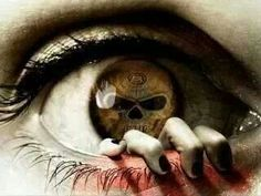 Look into my eyes. Creepy Eyes, Creepy Art, Scary Clowns, Dark Fantasy Art, Dark Art, Fantasy Images, Brust Tattoo, Skull Sketch, Look Into My Eyes