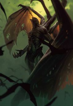 View an image titled 'Dettlaff: Higher Vampire Art' in our Gwent: The Witcher Card Game art gallery featuring official character designs, concept art, and promo pictures. Dark Fantasy Art, Fantasy Artwork, Dark Art, Demon Artwork, Witcher Art, The Witcher 3, Arte Horror, Horror Art, Witcher Monsters