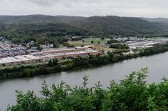 Homer Laughlin China Co. sits along the Ohio River in Newell. A bridge built at the behest of the company used to run a trolley line between Homer Laughlin's old plant in Ohio and its new plant in West Virginia. To this day, the company still collects a small toll for cars to cross the bridge.