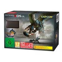 Nintendo 3DS XL schwarz + Monster Hunter 3 - Limited Edition + 4GB Speicherkarte (Bundle)