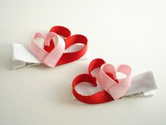 Valentine Clippies...a great idea for someone craftier than me.